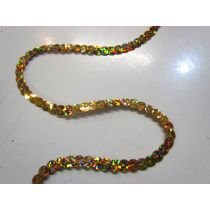 Slung Holographic Sequins- Gold