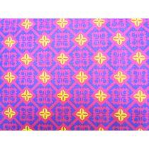 Kokka Diamonds- Pink/Purple