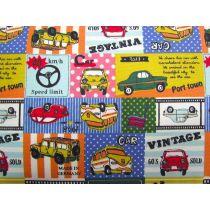 Kokka Vintage Automobiles- Green