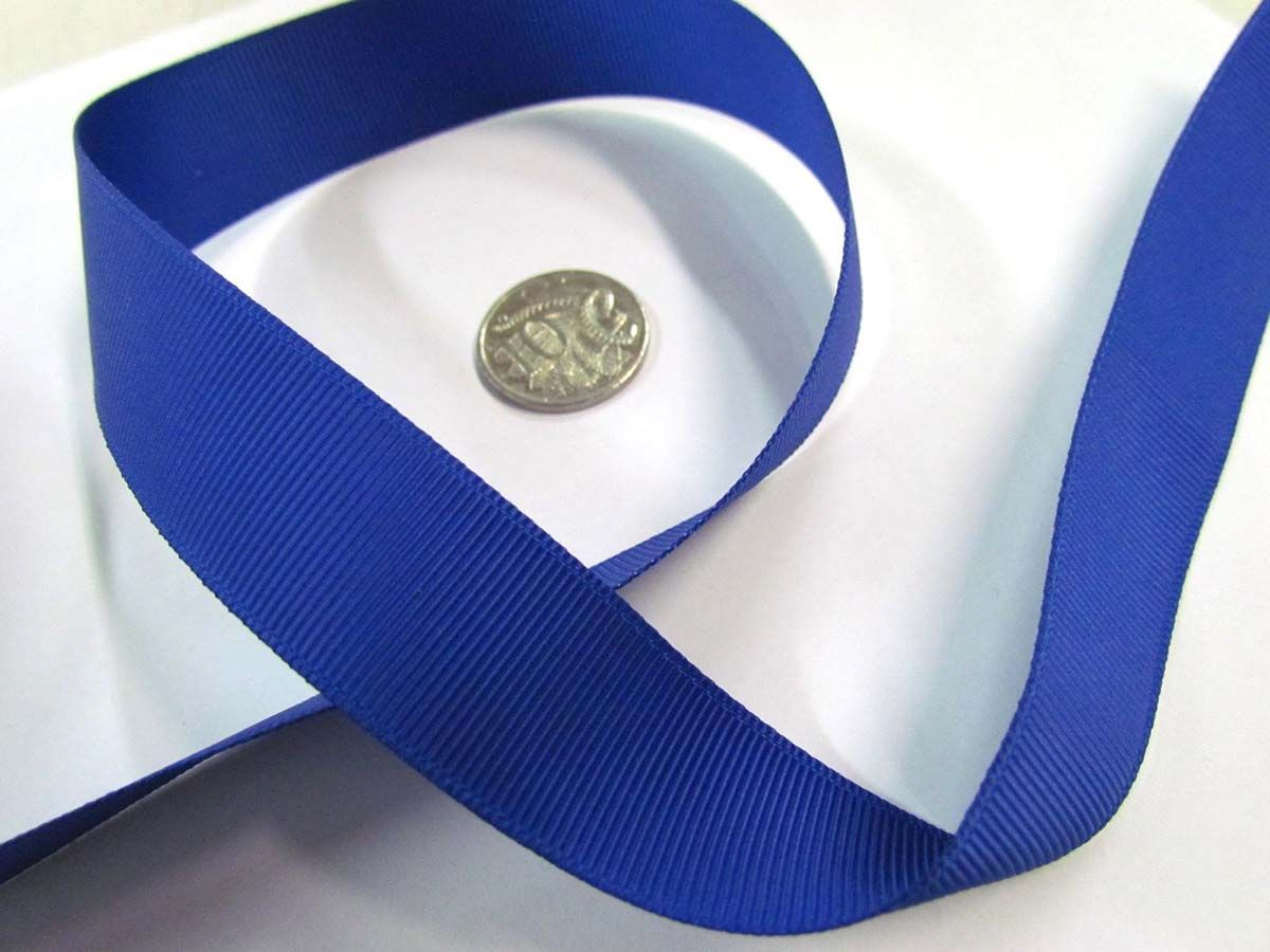 Grosgrain Ribbon 22mm- Royal Blue  3146a524ba0c