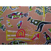 Dreamtime Animals- Tan