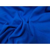 Wide Cotton Spandex- Cobalt