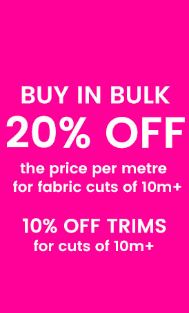 Save on Fabric 10m+