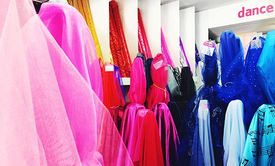 Dance Fabrics Stores Sydney