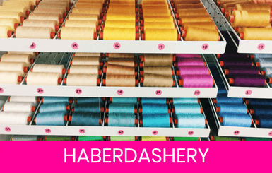 Haberdashery & Dressmaking Supplies Online